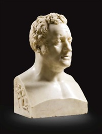 herm bust of james murphy by john hogan