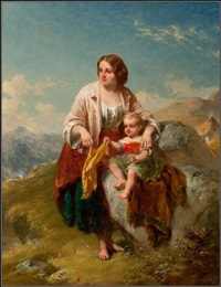 mother and child by thomas faed