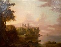 culzean castle, scotland by alexander nasmyth