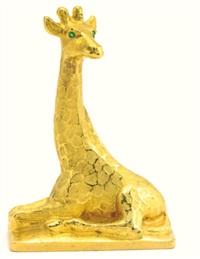 a giraffe by karl hultström