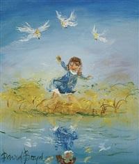 reflection by david boyd