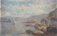 sailing along the coast by stelios miliadis