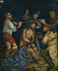 christ crowned with thorns by anonymous-german (16)