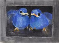 blue birds by liu ch'i-wei