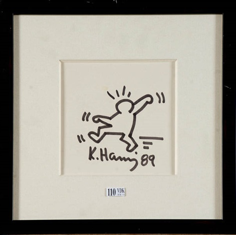 personnage by keith haring