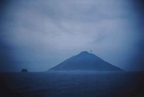 volcano at dawn stromboli italy by nan goldin