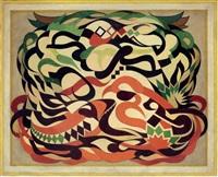 kaligrafik kompozisyon by mahmud cuda