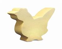 chicken, from animal sculptures by julian opie