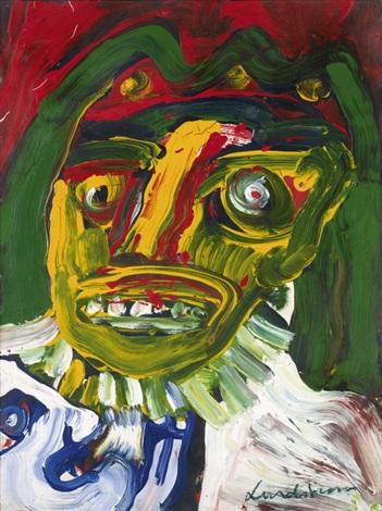 portrait de gerard voisin by bengt lindström