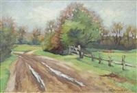 in the fields by heinrich blunck-heikendorf