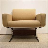2 fauteuils, modèle caracas (set of 2) by pierre guariche