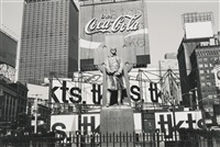 nyc' (father duffy) by lee friedlander