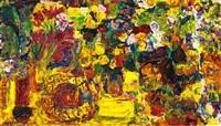 a colourful still life by rafael wardi
