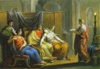 virgilio legge l'eneide ad augusto by vincenzo camuccini