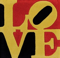 liebe love by robert indiana