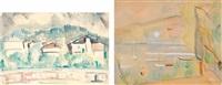 paesaggio (+ grignan; 2 works) by nando coletti