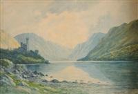 glenveigh castle, co. donegal by douglas alexander