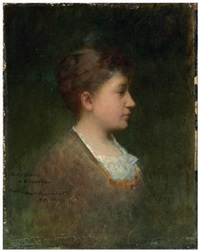 profile head by william henry lippincott