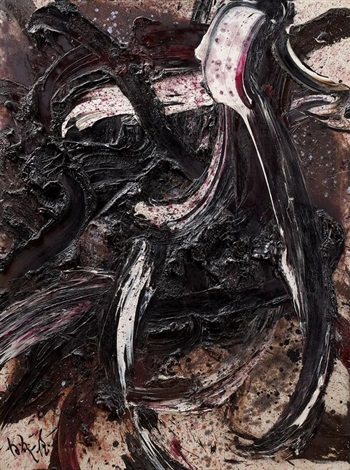 composition bb41 by kazuo shiraga