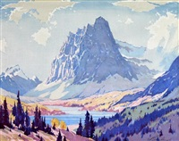 mount einsenhower by barbara (barleigh) leighton