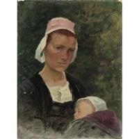 femme et enfant by achille granchi-taylor