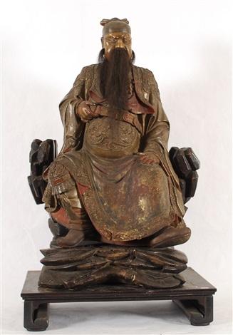 gardien assis sur son trône