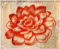 station to station flower 3 by shepard fairey