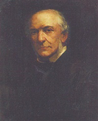 portrait of william ewart gladstone by william thomas roden