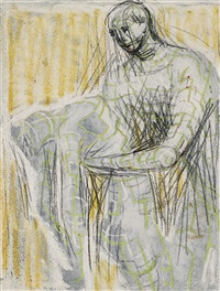 death of mira by henry moore