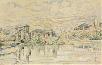 beaucaire by paul signac