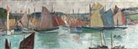 port en bretagne, concarneau by jean puy