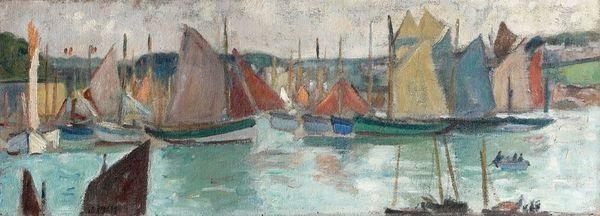port en bretagne concarneau by jean puy