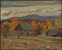 old farm near combermere, ont by ralph wallace burton