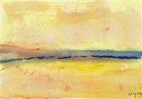 tramonto sulla laguna by antonio corpora