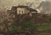 paesaggio by duilio corompai