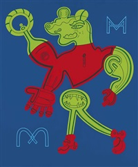 m and mmmm by karl wirsum