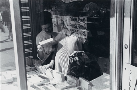 woman in window from 15 photographs by lee friedlander by lee friedlander