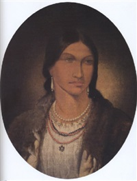 the daughter of asabonish (a woman from manitooawning) by paul kane