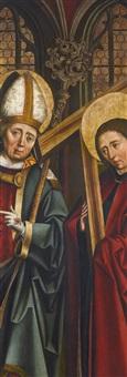 saints augustine of hippo and andrew by german school-swabian (16)