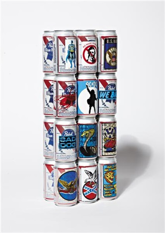 beer cans sculpture for teenage boys by pruitt and early