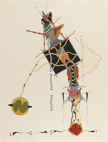 composition surrealiste by jorge camacho