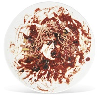 untitled (medusa plate) by vik muniz