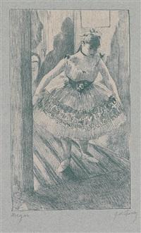 entrée en scène (from quinze lithographies) by edgar degas