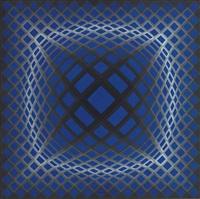 vega-bleu by victor vasarely