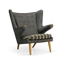 bamse armchair by hans j. wegner