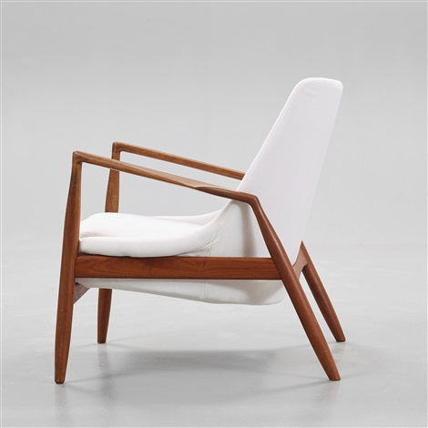 An Ib Kofod Larsen Teak U0027sealu0027 Easy Chair By Ib Kofod Larsen