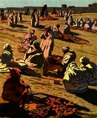 les petits métiers place djemaâ el fna by mathilde arbey