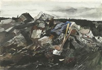 birchwood by andrew wyeth
