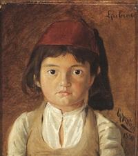 portrait eines knaben by g. kreutzer