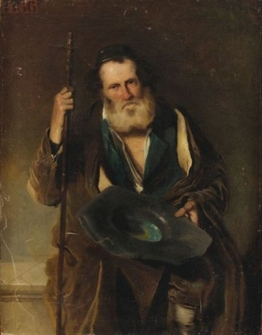 portrait dun juif de jérusalem by edouard moyse